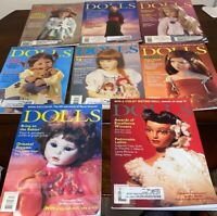 8 DOLLS MAGAZINES January,February March June/July Aug Sep October Nov Dec 2001