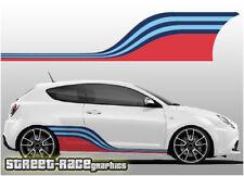 Alfa Romeo Martini racing stripes 007 vinyl graphics stickers Giulietta Mito