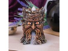 Tree Spirit Incense Burner Cone Holder Green Man Wiccan Pagan Ornament