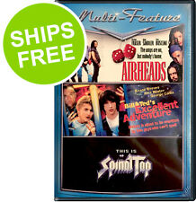 Airheads / Bill & Ted's Excellent Adventure / This is Spinal Tap, NEW, Sealed