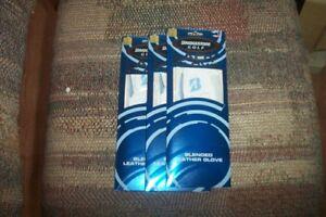 3 BRAND NEW Bridgestone Lady LH small Gloves White w/ blue