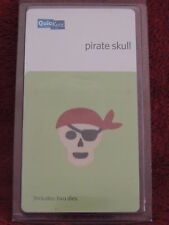 NEW QUICKUTZ 2X2 CUTTING DIE DIES PIRATE SKULL