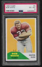 1960 FLEER Football Bob White #4 PSA 6