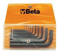 10 CHIAVI A BRUGOLA brunite nere busta BETA 96N/B10 1,5-12 mm maschio esagonali