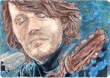 MUSICA - Fabrizio De Andrè - acrilico #quadrodipintoamano #ooak #ritrattodeandrè