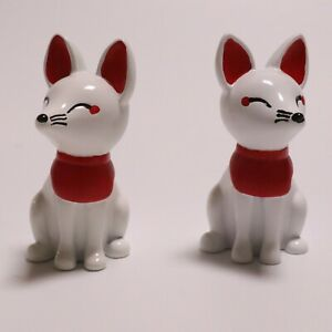 ■ Inari Shrine Kamidana ■ Inari Kitsune pair Fox