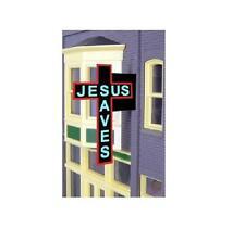 Miller Engineering  HO/N JESUS SAVES SIGN MLR9072-NEW