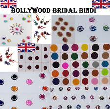 B2593 Multi Colour Round Bindi Dot Tattoo Forehead Sticker Wedding Tikka Bindi