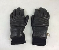 GRANDOE Vintage Leather Ski Gloves Insulated Womens Small