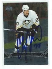 Colby Armstrong Signed 2006/07 Black Diamond Upper Deck Card #66