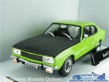 FORD CAPRI MK1 CAR MODEL GREEN & BLACK 1:43 SIZE 60'S/70'S SPORTS COUPE T3