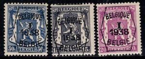 Belgium 1938 MNH 100% precancelled coat of arms