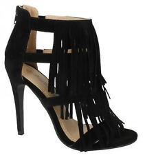 Peep Toes Standard Width (D) Slim Heel Shoes for Women