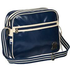 New Official New York Yankees NYY Logo Crossbody Satchel School Shoulder Bag