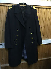 Original BW Marine Mantel Uniform Kapitän Größe 182 / 112 Offizier XXL NEU