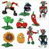 10pcs/set Plants vs. Zombies Action Figures Cake Topper Kids Gift PVC Toy 5-7CM