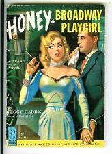 HONEY BROADWAY PLAYGIRL rare Venus #118 sleaze gga pin-up digest pulp vintage pb