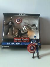 Marvel Legends Captain America Civil War Figure W/Motorcycle