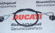 Ducati helmet security cable Monster ST SS Superbike from factory inventory 14""