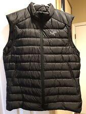 Arc'teryx Cerium LT Down Vest Men's Large in Black