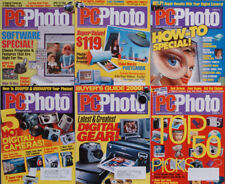 PC Photo Magazine 1999 Lot Digital cameras Software Printers Scanners Camcorders