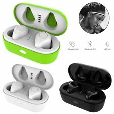 Wireless TWS Bluetooth Stereo In-Ear Earphone Headset Earbuds for Cell Phone