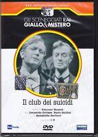 Dvd Sceneggiati Rai «IL CLUB DEI SUICIDI» di G.Vaccari con L.Cortese nuovo 1957