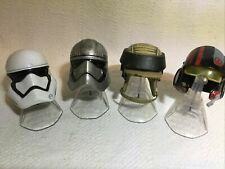 Star Wars Black Series Titanium Helmets Trooper, Phasma, Poe Dameron R Cammando