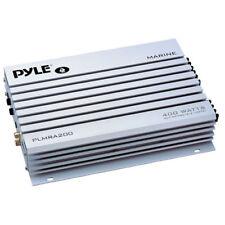 Pyle PLMRA200 2 Channel 400 Watt Marine Amplifier