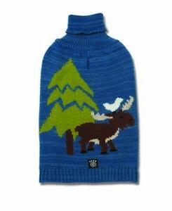 Petrageous Dog Sweater Acadia Moose Turtleneck Winter Christmas XS S M XL