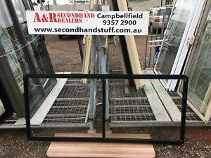 NEW Aluminium SLIDING WINDOWS 900h x 2100w (Approx Size) 5 COLOURS