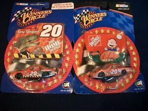 Winner's Circle #20 TONY STEWART Driver's Sticker & Hood Charlie Br 1:64 Diecast