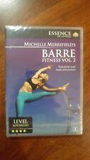 Michelled Merrifield - Barre Fitness Vol 2 DVD R0 NEW
