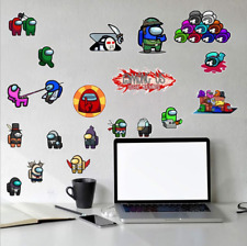 Among Us Removable PVC Wall Sticker Boy Bedroom Nursery Decal Party Kids Gift