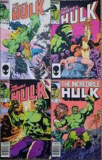 Incredible Hulk 310,311,312,314 Marvel The Leader John Byrne