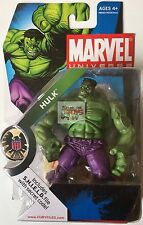 "MARVEL UNIVERSE GREEN HULK #013 Hasbro AVENGERS 2008 3.75"" INCH ACTION FIGURE"