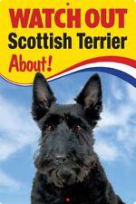 SCOTTISH TERRIER  3D DOG SIGN  great Christmas stocking filler