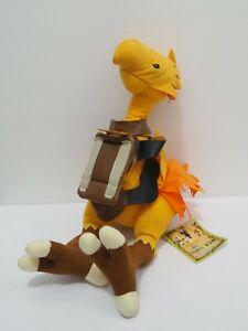 "Chocobo Final Fantasy XI 2005 Plush 13"" TAG Stuffed Toy Doll Japan Square Enix"