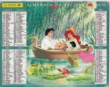 Almanach 1999 Calendrier de la poste PTT - HAUTE-SAONE 70  & Ter. de BELFORT 90