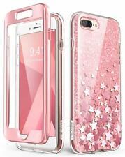 i-Blason Cosmo Glitter Clear Bumper Case for iPhone 8 Plus/iphone 7 Plus Pink