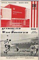Sunderland v West Bromwich Albion 1968/9 (15 Feb)