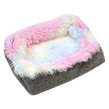 Plush Cat Pet Nest Mat Dual-use Warm Winter Kennel Lovely Dog Bed Sofa Cushion