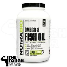 NUTRABIO - OMEGA 3 FISH OIL 500softgels - Essential Fatty Acids EPA DHA