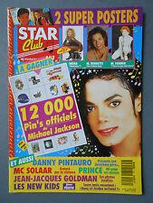 ►STAR CLUB 52/1992 - MICHAEL JACKSON - PRINCE - MYLENE FARMER - INDRA - SOLAAR