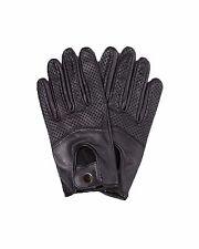 Motorsports Mens Genuine Leather Driving Gloves