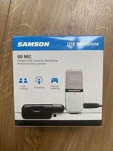 Samson Go Mic USB Microphone - BRAND NEW, UNOPENED