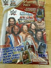 Topps WWE Slam Attax Universe 2019 Trading Cards Game Starter Pack Binder + Ltd
