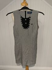 Fred Perry Dogtooth Dress Size 10 (Mod, Northetn Soul, Not Amy Winehouse)