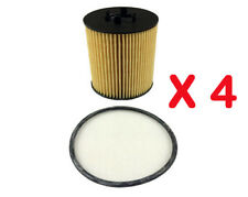 Oil Filter R2591P Fits HOLDEN Astra TSII Barina XC Vectra JS JSII ZC PETROL 4Set