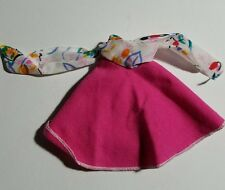 1986 Barbie Doll B Active Vacation Sensation Pink Wrap Skirt #7915